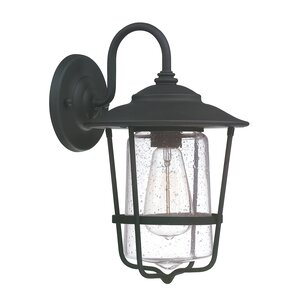 Hadaway 1-Light Outdoor Wall lantern