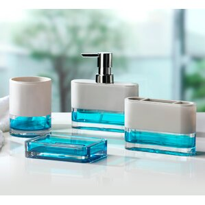 4-Piece Elle Bathroom Accessory Set