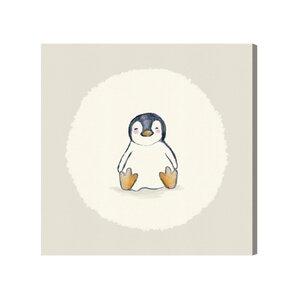 Lallie Penguin Canvas Art