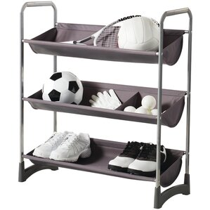 Chris Garage/Sport Stackable Purpose Storage Freestanding Sports Rack