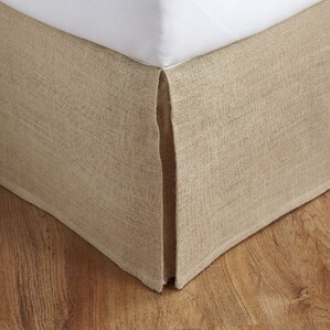 Oscar Burlap Bed Skirt