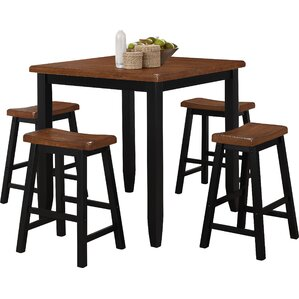 5-Piece Caldwell Pub Table Set