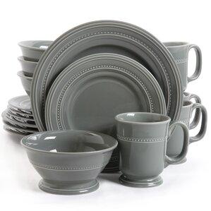 Lucie 16 Piece Dinnerware Set