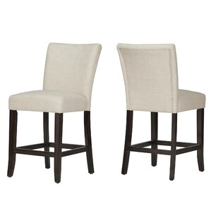 """Laurie 24"""" Bar Stool (Set of 2)"""