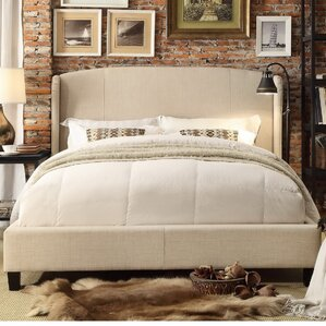 Chapelle Queen Upholstered Panel Bed