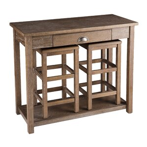 Carlin 3-Piece Pub Table Set