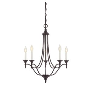 Lovington 5-Light Candle-Style Chandelier