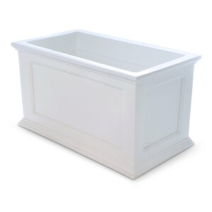 Fairfield Plastic Planter Box