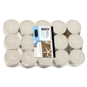 Fresh Cotton Tea Light Candle (Set of 30)