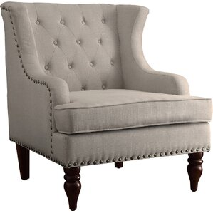 Malina Wingback Club Chair