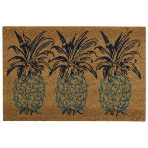 Pineapple Door Mat