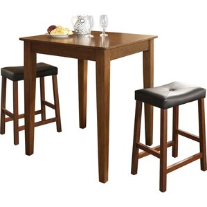 3-Piece Chloe Pub Table Set