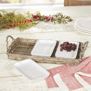 Ruthanne Server Set (Set of 4)