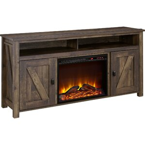 Elise Media Console with Electric Fireplace