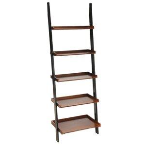 """Stoneham 72"""" Leaning Bookcase"""