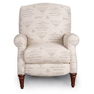 Owens French Font Recliner