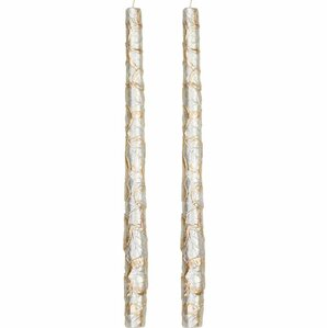 Leaf Taper Candle (Set of 2)
