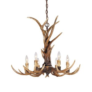 Tuffa 6-Light Candle-Style Chandelier