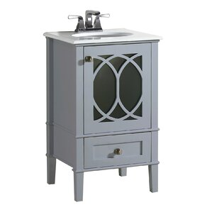 "Gloria 21"" Single Bathroom Vanity"
