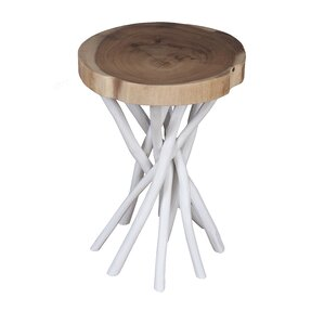 Amina Teak End Table