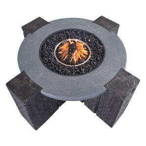 Maddison Concrete Fiber Propane Fire Pit