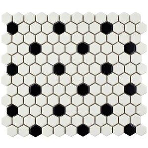 """Pelham 0.875"""" x 0.875"""" Porcelain Mosaic Tile"""