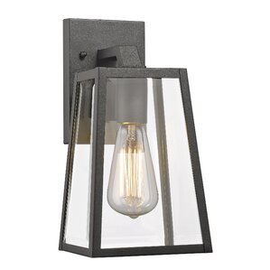 Knutson 1-Light Outdoor Wall Lantern