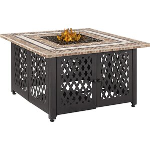 Tyler Steel Propane Fire Pit Table