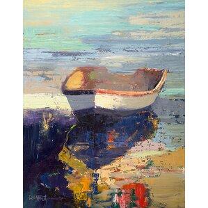 Blueglow Canvas Print