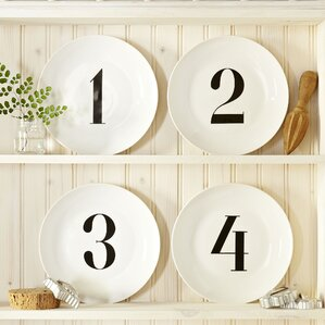 Joseph Numbered Salad Plates