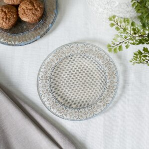 Ruby Glass Salad Plates (Set of 8)