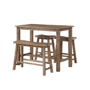 William 4-Piece Pub Table Set
