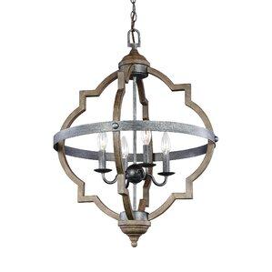 Drew 4-Light Hall Pendant