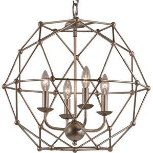 Levingston 4-Light Globe Pendant