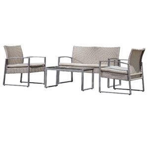 Powell 4-Piece Lounge Seating Group
