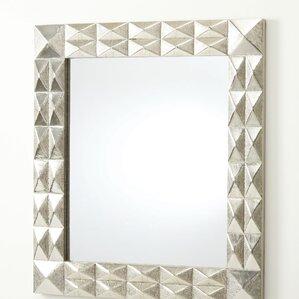 Davi Rectangle Silver Mirror