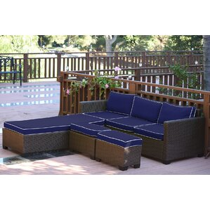 5-Piece Helena Patio Seating Group