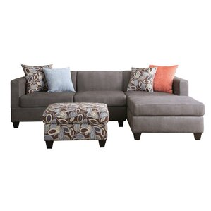 """Iris 97"""" Reversible Chaise Sectional"""