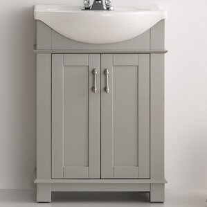 "Lela 24"" Single Bathroom Vanity Set"
