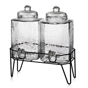 3-Piece Albany Beverage Dispenser Set