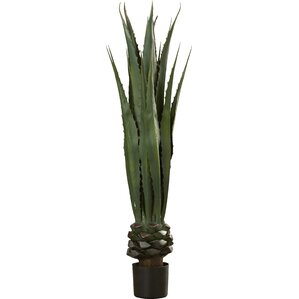 Artificial Giant Agave Floor Plant in Pot