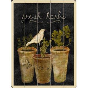Fresh Herbs Giclee Print