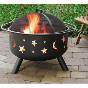 Thompson Outdoor Steel Wood Fire Pit