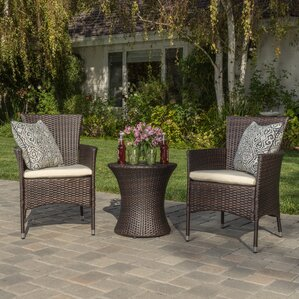 Florence 3-Piece Outdoor Chat Set