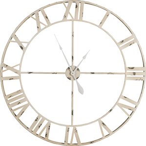 Anita Round Oversized Wall Clock