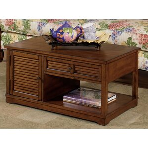 Coffee Table with Magazine Rack  by Wildon Home ®