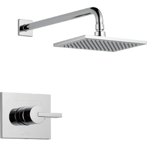 Vero Diverter Shower Faucet Trim with Lever Handles