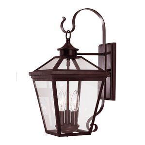 Colchester 3-Light Outdoor Wall Lantern
