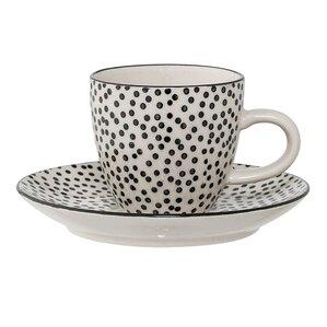 Julianna Stoneware Mug & Saucer