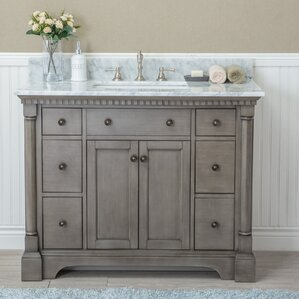 "Setsuko 42"" Single Bathroom Vanity Set"